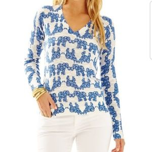 Lilly Pulitzer Pack Your Trunk Sweater